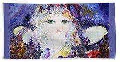Flower Fairy Beach Sheet