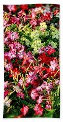 Flower Garden 1 Beach Sheet
