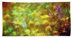 Flower Garden 1310 Idp_2 Beach Sheet