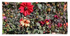 Flower Garden Beach Sheet