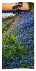 Flower Mound Beach Towel