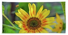 Beach Sheet featuring the photograph Flower Of The Sun by Kerri Farley