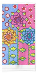 Flower Power 2 Beach Towel