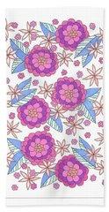 Flower Power 9 Beach Sheet