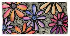 Flower Series 4 Beach Sheet