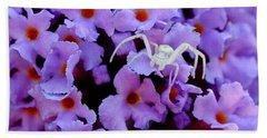 Flower Spider Beach Towel