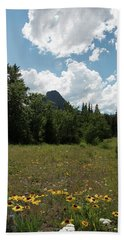 Flower Trail Beach Towel by Annette Berglund
