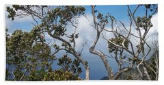 Flowering Branches Beach Sheet