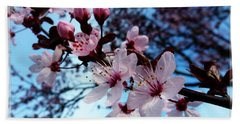 Flowering Of The Plum Tree 6 Beach Sheet