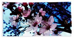 Flowering Of The Plum Tree 7 Beach Towel
