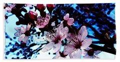 Flowering Of The Plum Tree 7 Beach Sheet