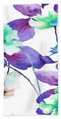 Flowers 01 Beach Towel