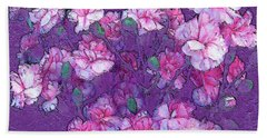 Flowers #063 Beach Towel