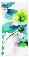 Flowers 08 Beach Towel
