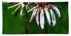 Flowers - 14april2017 Beach Towel by Jim Vance