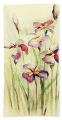 Flowers Beach Sheet by Allen Beilschmidt