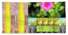 Flowers And Plants Impressionistic Beach Sheet