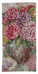 Flowers Arrangement  Beach Towel