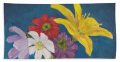 Flowers For Gary Beach Towel