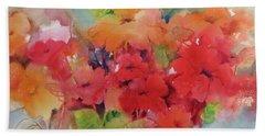 Flowers For Peggy Beach Towel