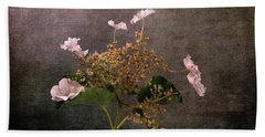 Beach Towel featuring the photograph Flowers For The Mind by Randi Grace Nilsberg