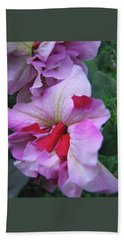 Flowers From Johnny - Petunia Beach Towel