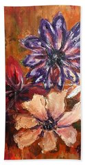 Flowers In The Spring Beach Towel