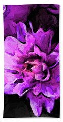 Flowers Of Lavender And Pink 1 Beach Towel