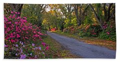 Flowers - Spring Fling Beach Towel by HH Photography of Florida