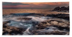 Flowing Waters Beach Towel