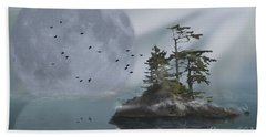 Fly By Night Beach Towel