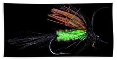 Fly-fishing 1 Beach Towel