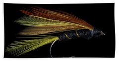 Fly Fishing 3 Beach Towel