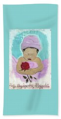 Fly Happy Unique Angel Again Beach Towel by Talisa Hartley