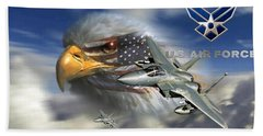Fly Like The Eagle Beach Towel