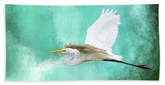 Flying High Beach Towel by Cyndy Doty