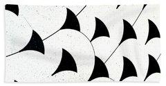 Beach Towel featuring the digital art Flying  by Rebecca Harman