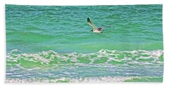 Flying Solo Beach Sheet by HH Photography of Florida