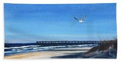 Flying Solo Beach Towel