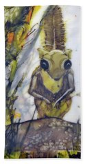 Flying Squirrel Beach Towel