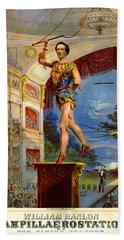 Beach Towel featuring the photograph Flying Trapeze 1850 by Padre Art