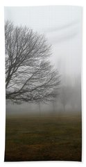 Fog Beach Towel by John Scates