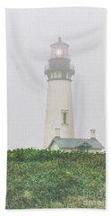 Fog Light Beach Towel