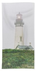 Fog Light Beach Towel