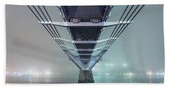Fog - Millennium Bridge Beach Towel