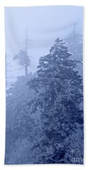 Beach Towel featuring the photograph Fog On The Mountain by John Stephens