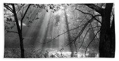 Fog Rays Beach Sheet