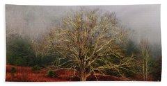 Fog Tree Beach Sheet