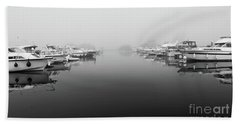 Foggy Day Banagher Beach Towel