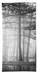 Foggy Ellacoya Beach Towel